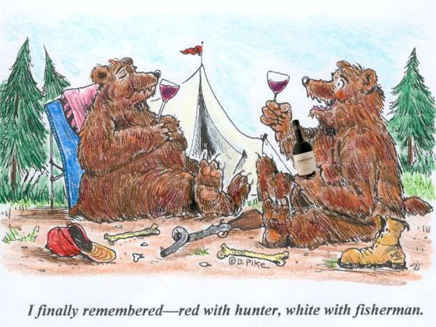 tph wine bearcartoon