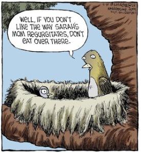 tph Don't Like the Regurgitation