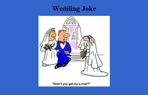 tph wedding joke