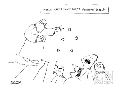 tph peter-mueller-moses-hands-down-easy-to-swallow-tablets-new-yorker-cartoon