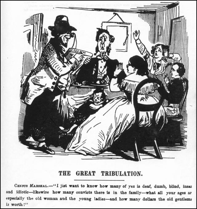tph census antique cartoon