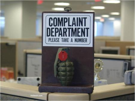 tph Complaint Department