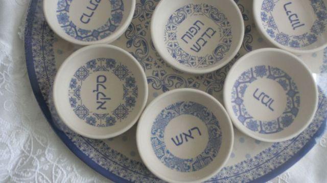 tph rosh hashanah seder plate Liz Steinberg