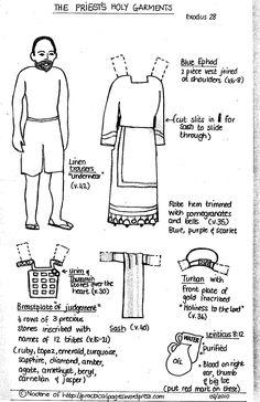 tph high priest paper doll