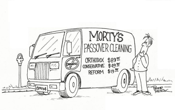 tph morty's passover cleaning