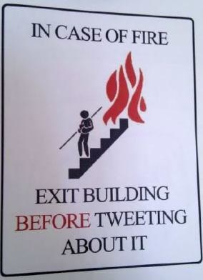 tph ki tavo in-case-of-fire-exit-building-before-tweeting-about-it