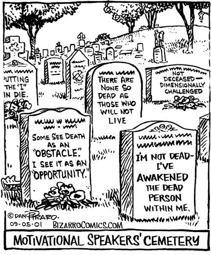 tph motivational speakers cemetery