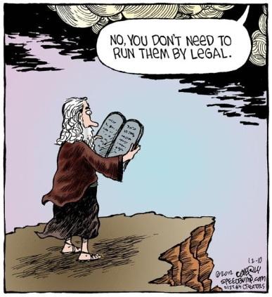tph Run the Commandments by Legal