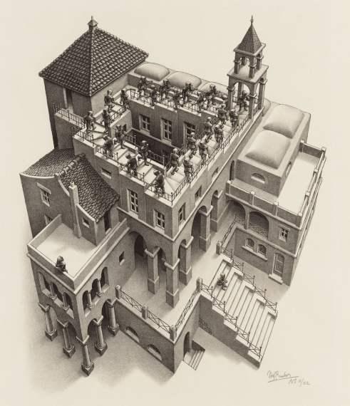 tph Escher Ascending and Descending 1960