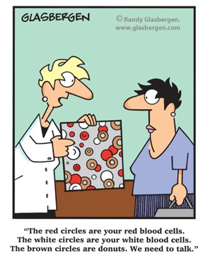 tph blood cells donuts